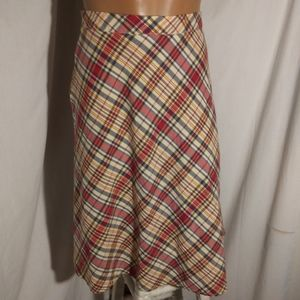 Tommy Hilfiger Plaid Skirt Size 14